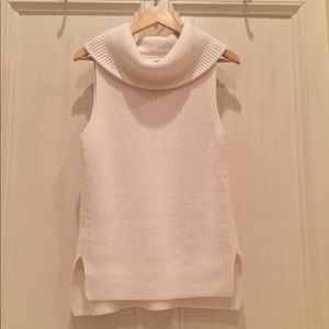 NWOT- Lou & Grey Cowl Neck Sleevless Sweater